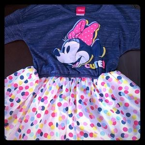 Disney Minnie dress- worn once! Feminine and fun!